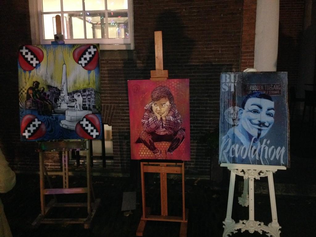 street art schilderijen amsterdam museum